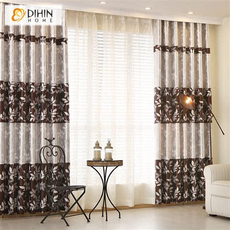 window cloth curtains dihin 1 pc pastoral curtains for living room window