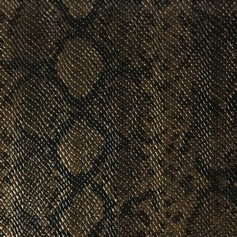 Leather Upholstery Supply by York Snake Skin Pattern Embossed Vinyl Upholstery Fabric
