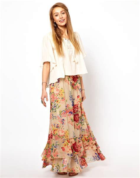Maxi Denim Lipat 1 lyst denim supply ralph fluted maxi skirt