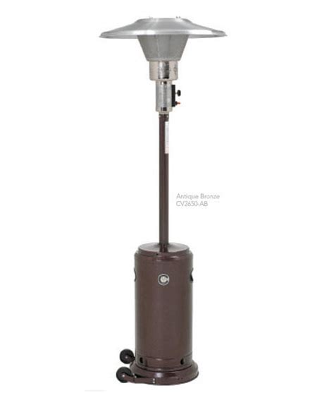 portable patio heaters buy crown verity cv 2650 ab portable patio heaters at kirby