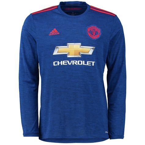 Manchester United Away 2012 Longsleeve adidas mens gents football manchester united away sleeve shirt 2016 17 ebay