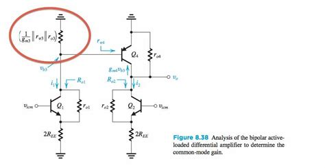 diode connected transistor modeling diode connected transistor in differential lifier electrical engineering stack