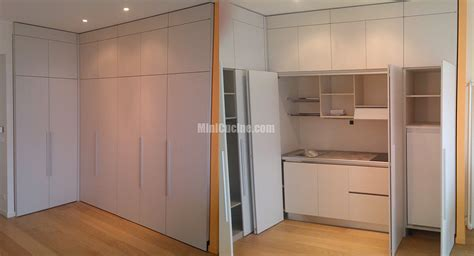 armadio a scomparsa cucine su misura minicucine cucine moderne per piccoli spazi