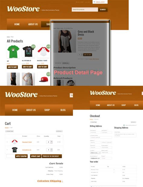 woostore themes woostore online shopping cart with woocommerce plugin