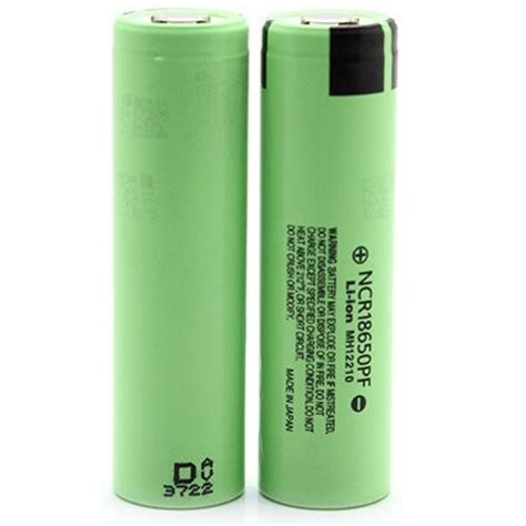 panasonic 18650 li ion imr battery 2900mah 3 6v with flat
