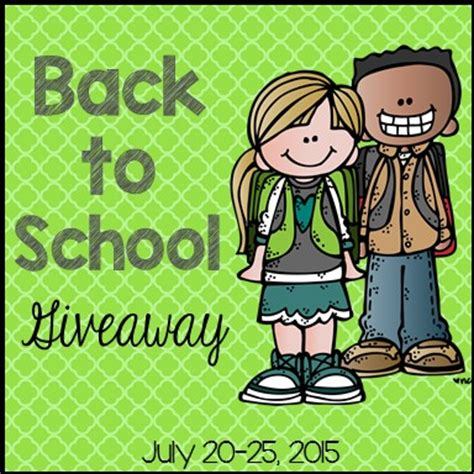 Back To School Giveaways - going strong in 2nd grade back to school giveaway