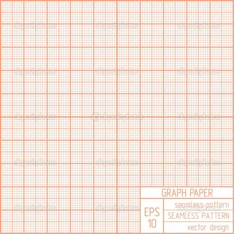 pattern paper grid graph paper seamless pattern stock vector