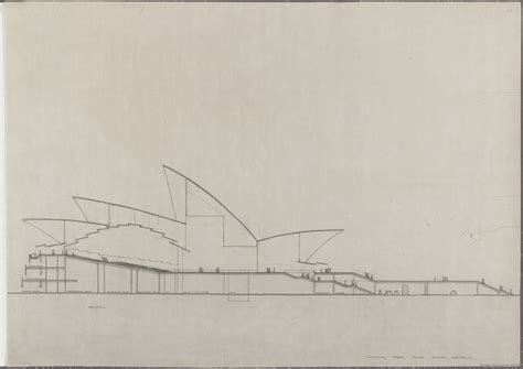 sydney opera house section sydney opera house utzon drawings state records nsw