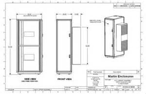 42u cabinet dimensions martin 19k air conditioned rack enclosure bomara associates