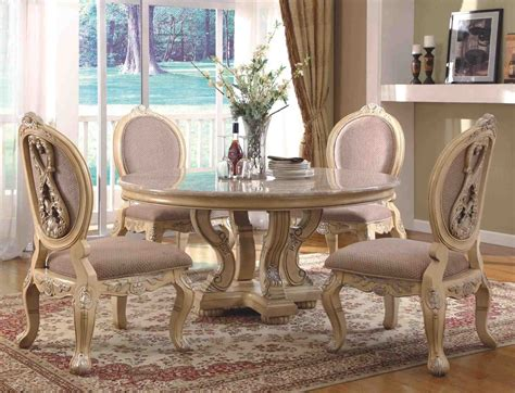 Round Formal Dining Room Sets by Traditional Round Dining Room Sets Temasistemi Net
