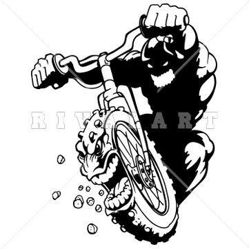 Clip Sepeda Bmx Black 12 best images about motocross clip on