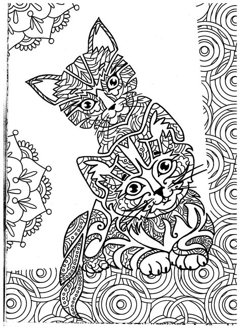 coloring book vk 1000 images about cats dogs coloring pages for adults