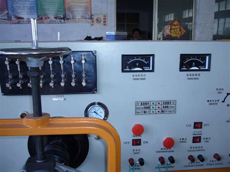 distributor test bench auto electrical test bench tqd model test generator