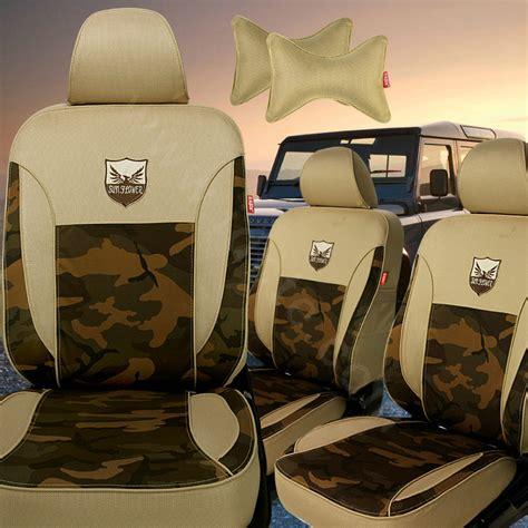 camo seat cover set buy wholesale tailored custom made camo automotive car