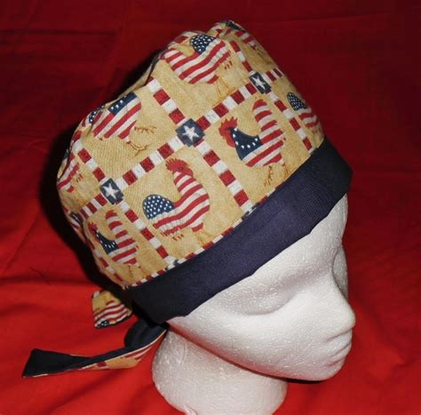 how to make yankee doodle hats 1000 images about calicomaisey s pixie scrub caps on