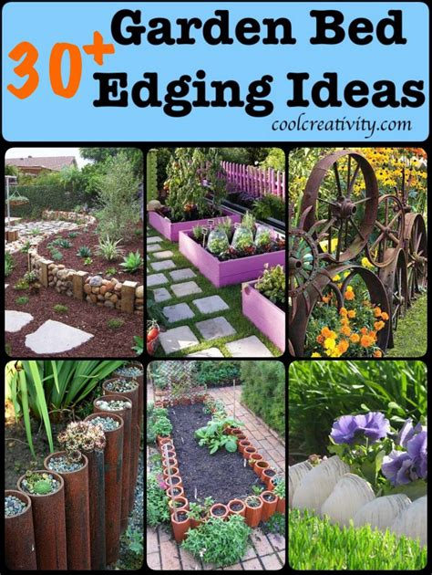 Diy Garden Edging Ideas 30 Diy Garden Bed Edging Ideas