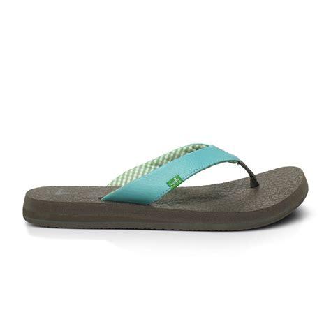 Sanuk Mat Flip Flops Womens by Sanuk Mat S Flip Flops Ebay