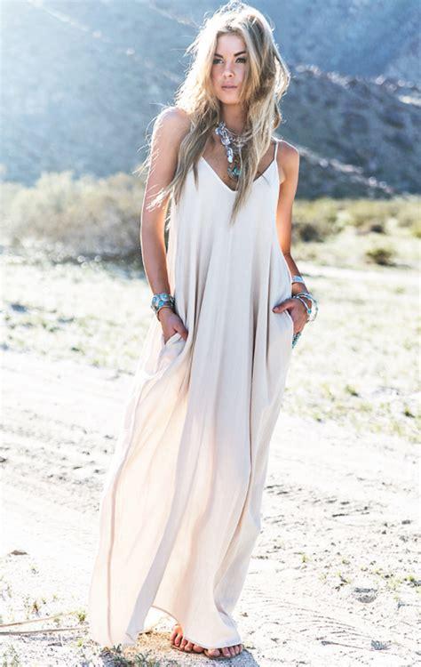 Dress Model White Style Fashion Impor 3 boho maxi dress m s