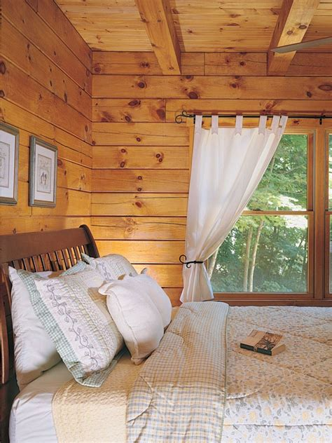 log cabin l shades log home design options neutral window and natural