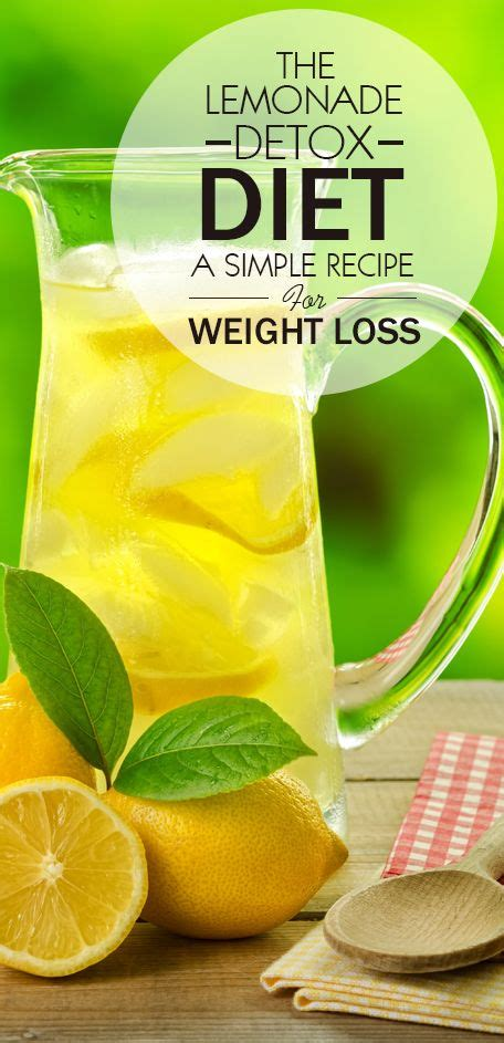 Menses As Detox best 25 lemonade diet ideas on master cleanse