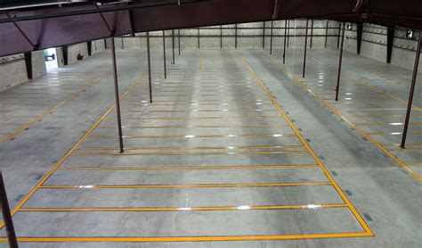 Warehouse Floor by Warehouse Floor Striping