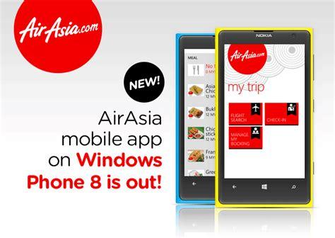 airasia mobile app air asia self check in method