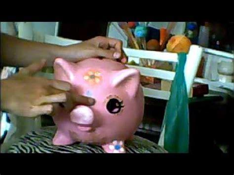 youtube como hacer una alcancia de marranito con botella plastica aprende a pintar cerdos con maquillaje youtube
