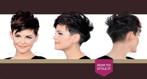ginnifer goodwin pixie front and back views ginnifer goodwin hair styling tips hairstylegalleries com
