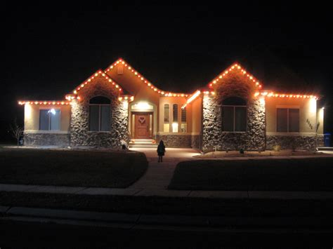 ideas for christmas lights on a ranch house 11 27 2011 the lance family
