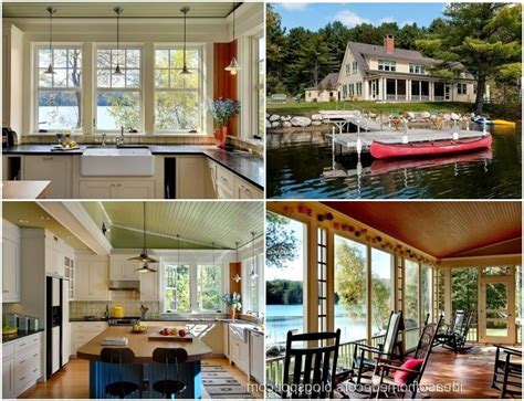lakeside home decor lake cottage decorating photos