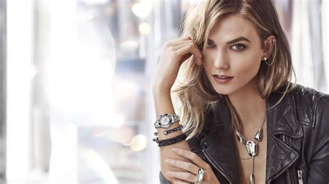 Karlie Kloss Celebrates Being Named Swarovski's New Brand