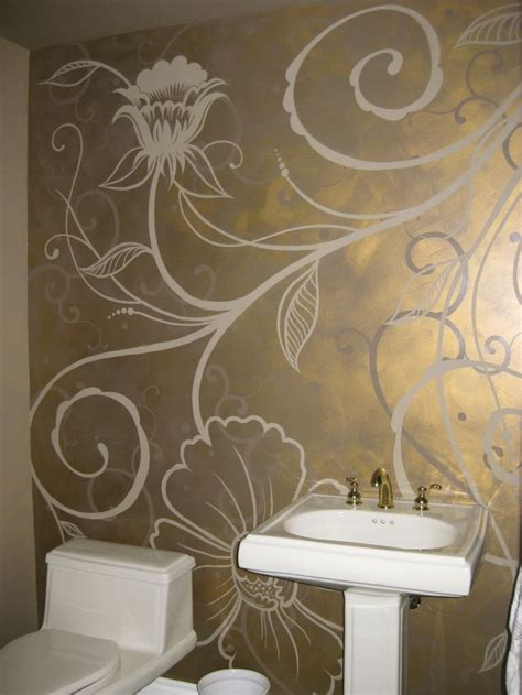 hand painted wall design paint pinterest powder 482 best decorative painting inspiration images on pinterest