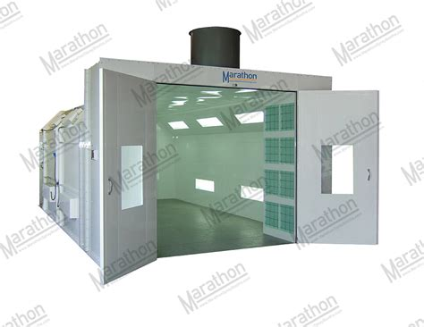model car tech paint booth design click for larger view industrial finishing spray paint booth reverse air flow