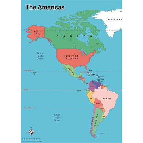 map of the america simple map of america education