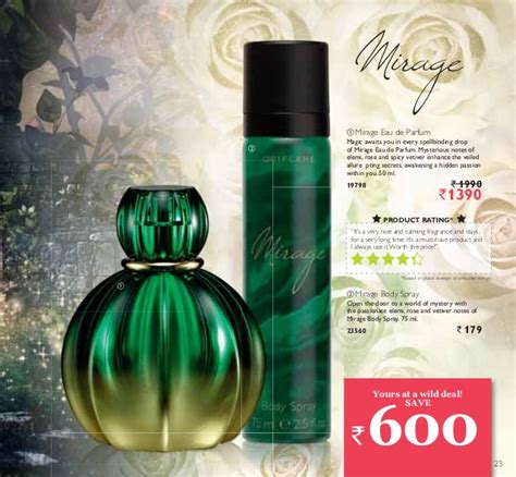 Parfum Mirage Oriflame oriflame catalogue 6 2013