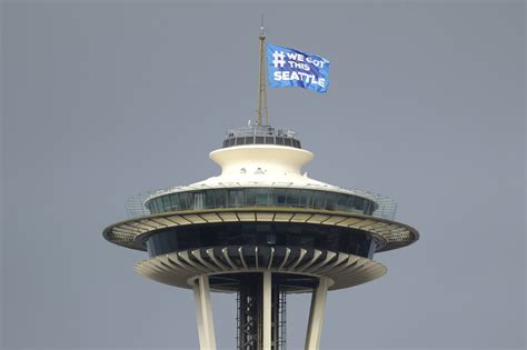 space needle reopens monday   technology enhanced