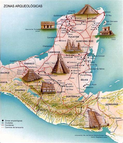 imagenes de zonas mayas cultura maya historia universal