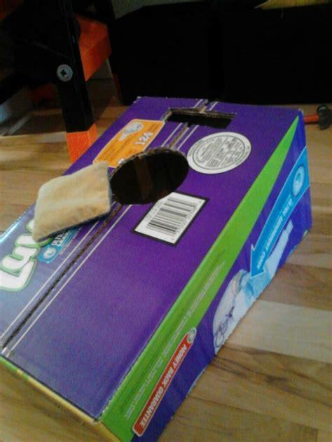 bean bag boxes diy bean bag toss using a box