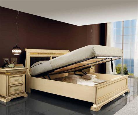letti contenitore torino letto contenitore in legno massello intarsiato mobili