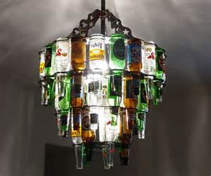 How To Make Antler Chandeliers Booze It Up 13 Rad Recycled Bottle Crafts Amp Projects