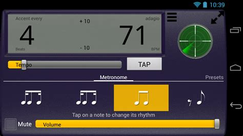 android rhythm creative rhythm metronome co uk appstore for android