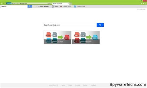 Search Removal How To Remove Search Searchctp Spywaretechs