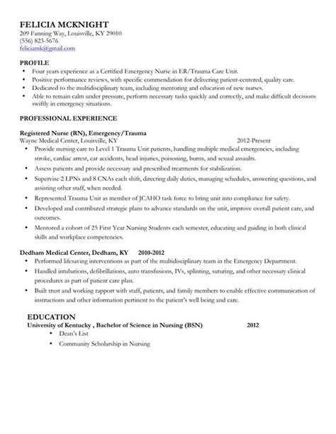 Sample Resume For Nursing Job by Nurse Anesthesia Resume Example