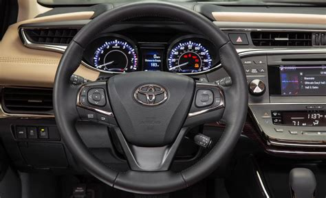 Toyota Avalon Interior Car And Driver