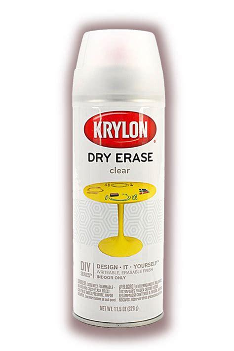 chalkboard paint vs erase paint chalkboard paint and clear erase spray from krylon