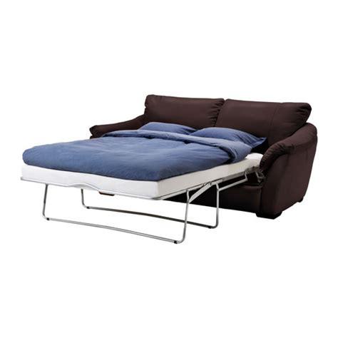 Ikea Schlafcouch by Ikea 196 Lvros Schlafsofa Braun Ausgeklappt Moebelfans De