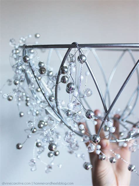 How To Fix A Chandelier How To Make A Diy Chandelier In An Hour More