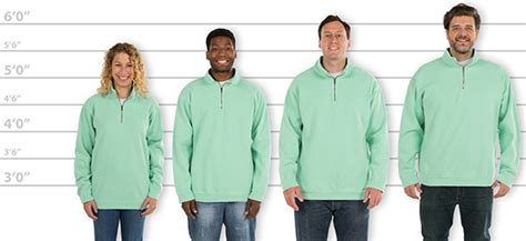 comfort colors sweatshirt sizing customink sizing line up for comfort colors quarter