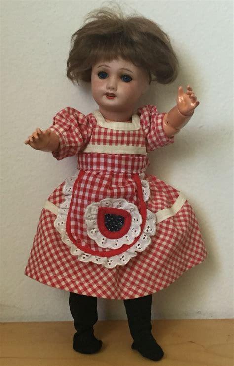 composition doll collectors antique unis bisque composition bleuette doll