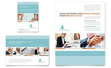 management consulting template management consulting flyer ad template design